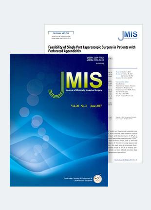 천공성 충수염에서 단일통로 복강경 수술의 적용 가능성