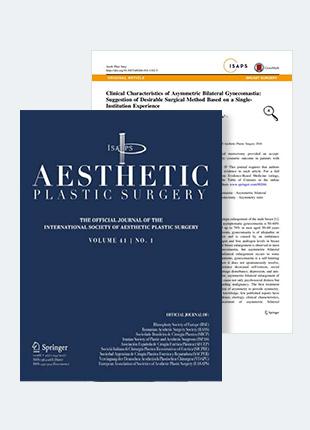 남성여유증수술 연구논문, SCI국제학술지 게재