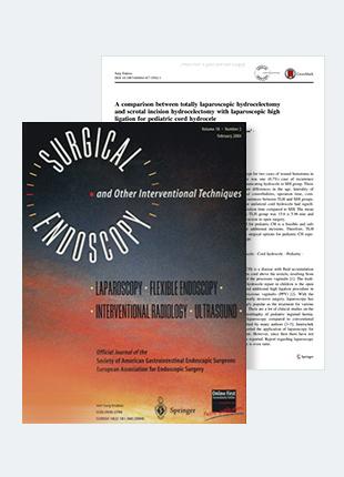 소아 음낭수종 복강경수술 연구논문, SCI국제학술지 게재
