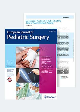 여아서혜부수종 복강경수술 연구논문, SCI 국제학술지 게재