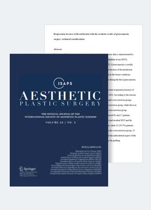 여성형 유방증 수술의 미용적 결과의 불만족으로 발생되는 재수술: 수술 방법의 고려사항들