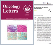 Oncology Letters